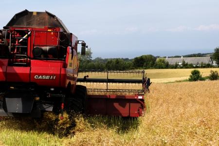 Harvester harvesting