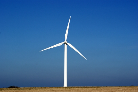windy energy: Windturbine, alternative Energy. Denmark.