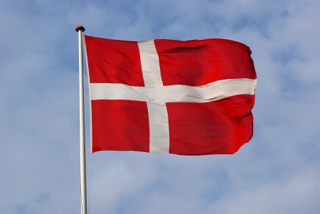 Dannebrog, The Danish Flag Stock Photo - 14970489