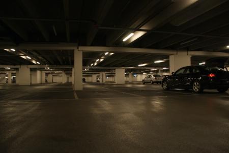 parking lot interior: Basement parking