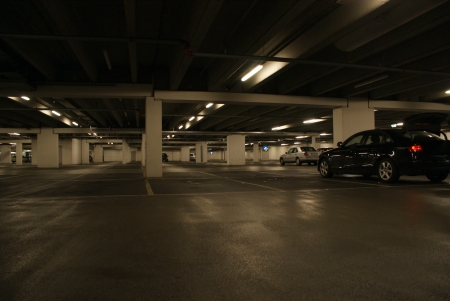 Ondergrondse parkeergarage