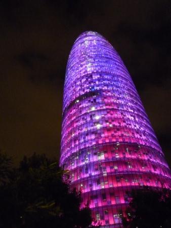 Agbar tower, Barcelona, EU
