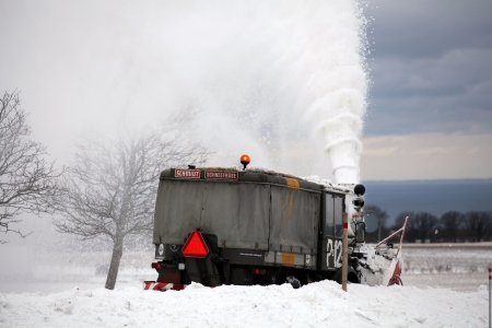 Snowblower assist after heavy snowfall