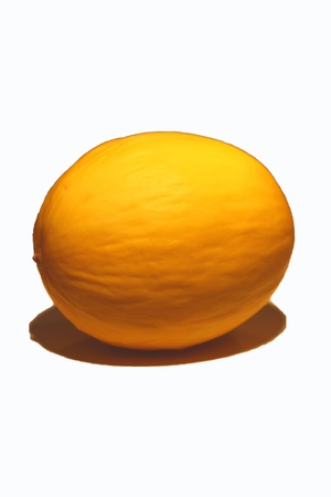 more mature: Honeydew melon, isolated