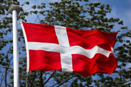 Dannebrog, the Danish flag