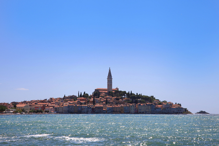 Rovinj, an old picturesque town,  Istria Croatia