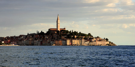 Rovinj, an old Picturesque town in Istria Croatia