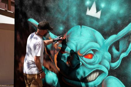 Grafitti as art form. Editorial