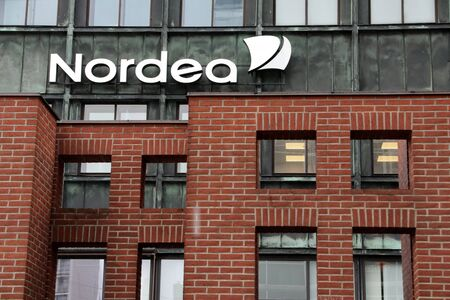 Nordea Bank. Vesterbro branch in Copenhagen from where potential money laundering has taken place. Nordea scrutiny deepens on fresh money laundering allegations