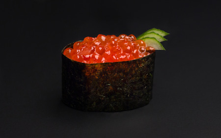 caviar: Sushi witch caviar Stock Photo