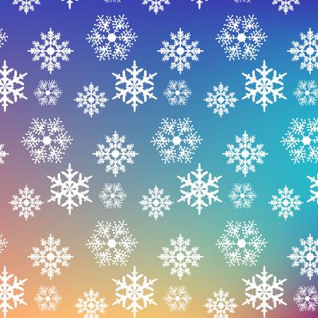 lightweight ornaments: Snowflake pattern graphic background gradient