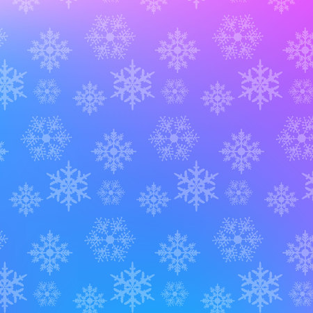 Snowflake pattern graphic background gradient