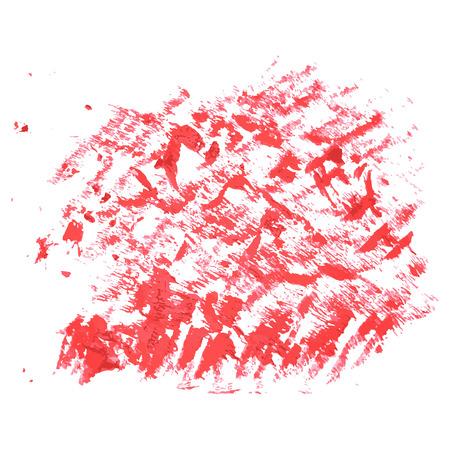 paint, ink, grunge dirty brush strokes splash red Ilustração