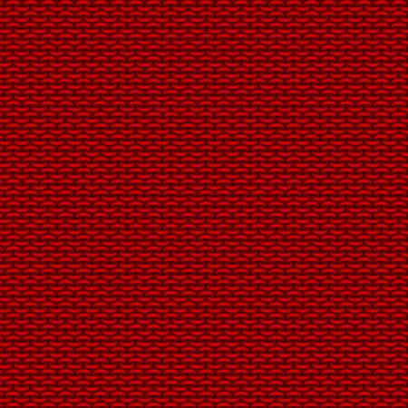 White realistic knit texture  pattern Stock Photo