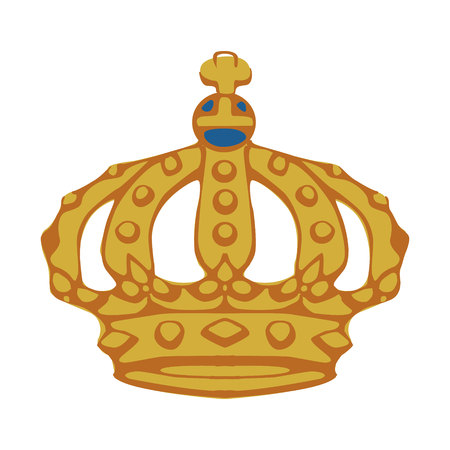 Illustration of crown Illustration