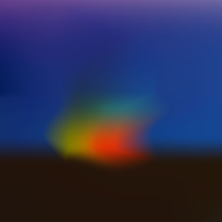 Blurry illustration. Vector abstract background. De focused colorful blurred poster