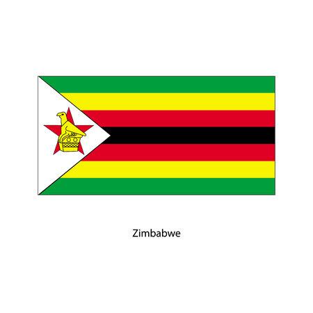 Vector Zimbabwe flag, Zimbabwe flag illustration, Zimbabwe flag picture, Zimbabwe flag image