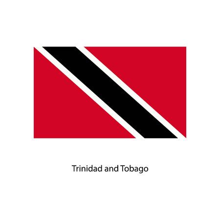trinidad and tobago: Trinidad and Tobago flag Illustration