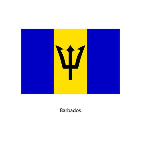 bandera de barbados ilustraciones vectoriales, clip art