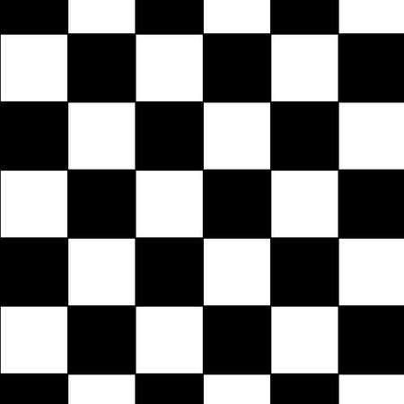Black and white checkered