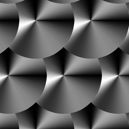 pattern Metallic Circle Illustration