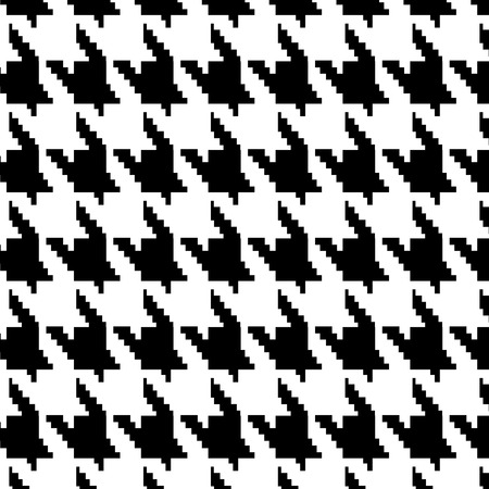 Hounds-tooth vector pattern Vectores