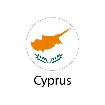 Flag of Cyprus Фото со стока - 84719785