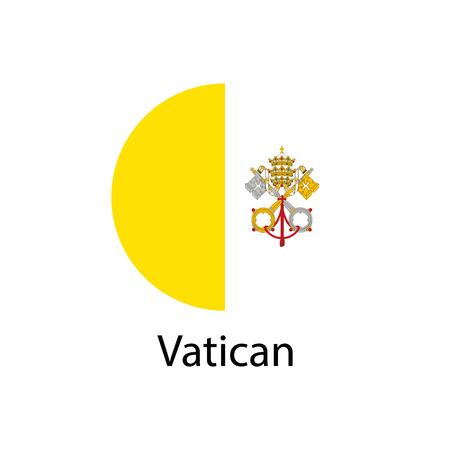 벡터 바티칸 플래그, 바티칸 플래그 그림, 바티칸 플래그 그림, 바티칸 플래그 이미지,