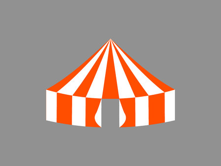 circus tent Vector illustration. Illustration