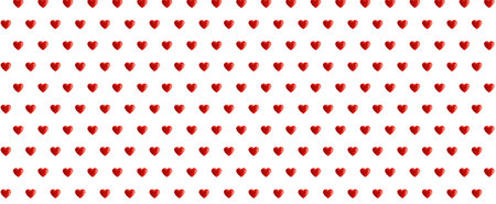 pattern love with red color Vetores