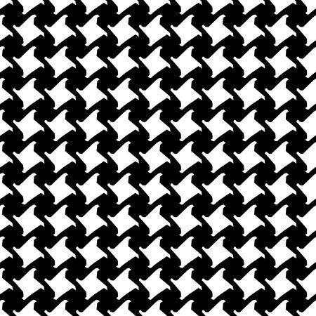 Pepita's pattern. black and white pattern