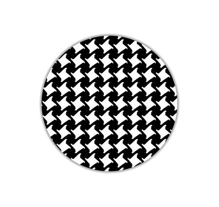 Pepita s pattern. black and white pattern