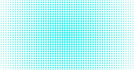menthol circle consisting of small circles. Illustration