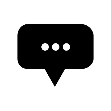 chat icon, chat logo template. Speech bubble vector illustration Vectores