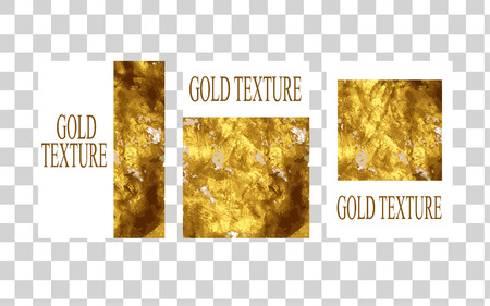Gold texture Minimal unequaled template for Brochure, Annual Report, Magazine, Poster, Corporate Presentation, Portfolio, Flyer. Appealing pastel hologram cover page. Archivio Fotografico - 127728050