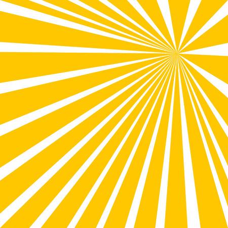 Sun beam ray sunburst pattern background summer.