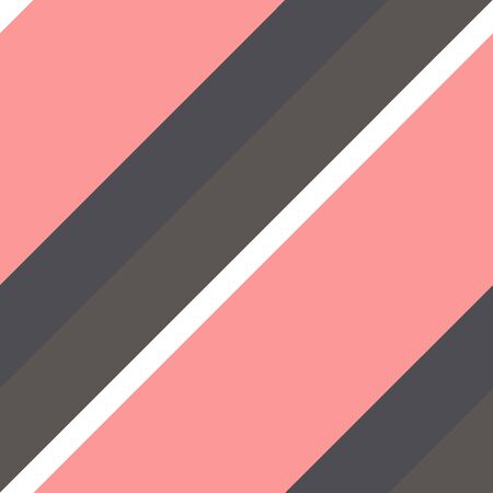 pattern with a black, brown and pink diagonal stripe.