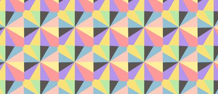 pattern with multicolor shapes