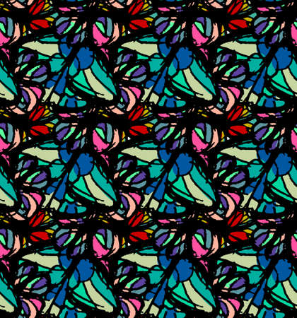 Monarch butterfly pattern wings. Flight of bright blue butterflies