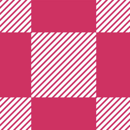 Seamless pattern black checkered.