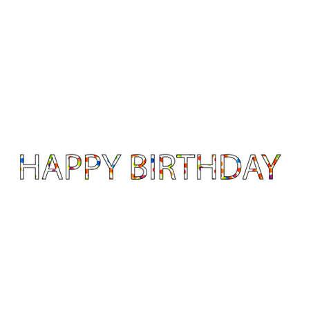 Happy birthday greetings.