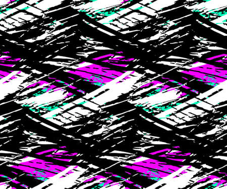 Abstract artistic background with colorful blots. Ilustração