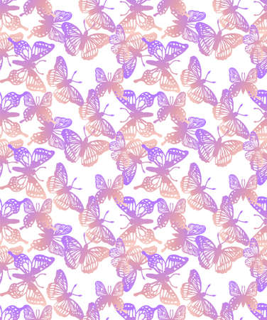 Abstract Butterfly Background - vector eps10