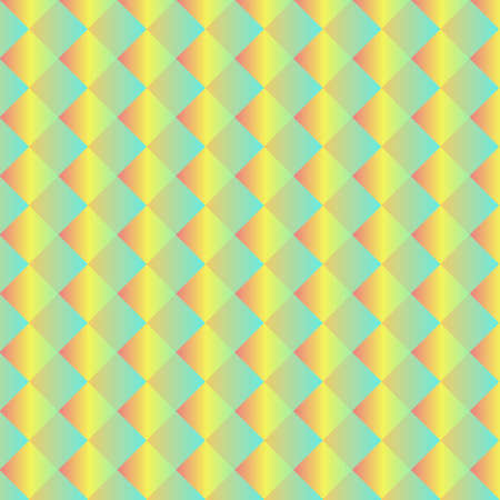 Light Blue, Yellow vector abstract mosaic background 矢量图像