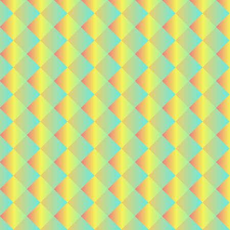Light Blue, Yellow vector abstract mosaic background Ilustração
