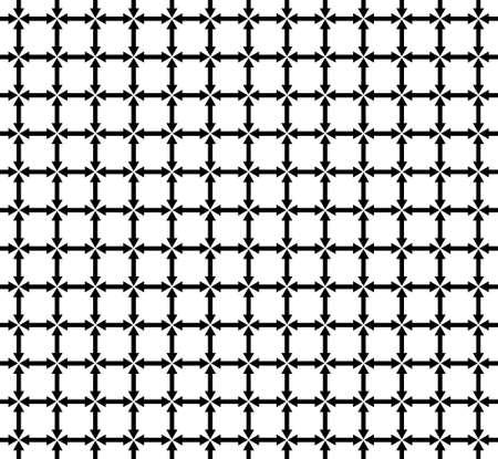 Black arrow icon, vector flat icon 矢量图像