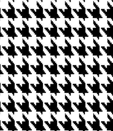 Hounds-tooth seamless vector pattern 矢量图像