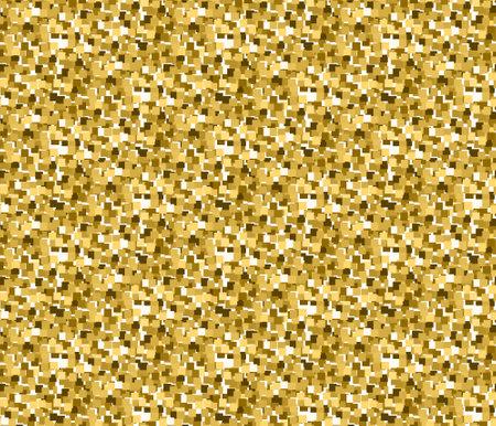 Gold glitter texture. Design element. Vector illustration