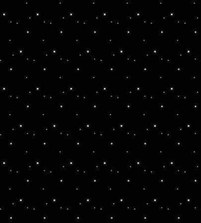 Vector milky way, vector night sky with stars 矢量图像