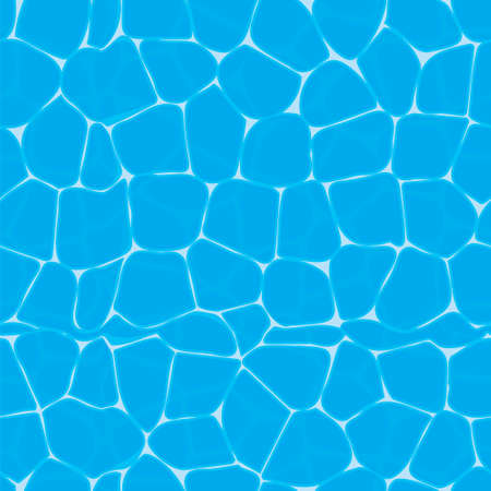 surface texture of blue water